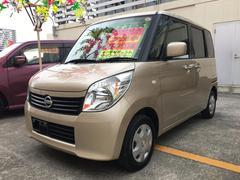 沖縄の中古車 日産 ルークス 車両価格 54万円 リ済込 平成23年 8.0万K ライトゴールド