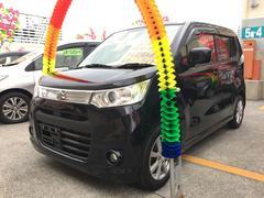 沖縄の中古車 スズキ ワゴンRスティングレー 車両価格 63万円 リ済込 平成24年 7.4万K ブラック