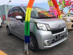 沖縄の中古車 ダイハツ ムーヴ 車両価格 58万円 リ済込 平成25年 6.7万K シルバー