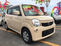 沖縄の中古車 日産 モコ 車両価格 55万円 リ済込 平成25年 7.5万K ベージュ