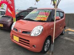 沖縄の中古車 日産 モコ 車両価格 34万円 リ済込 平成22年 12.2万K ピンク
