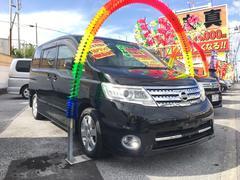 沖縄の中古車 日産 セレナ 車両価格 69万円 リ済込 平成21年 11.7万K ブラック