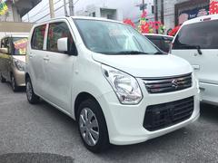 沖縄の中古車 スズキ ワゴンR 車両価格 62万円 リ済込 平成26年 9.5万K パール