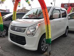 沖縄の中古車 スズキ ワゴンR 車両価格 64万円 リ済込 平成25年 7.2万K パール