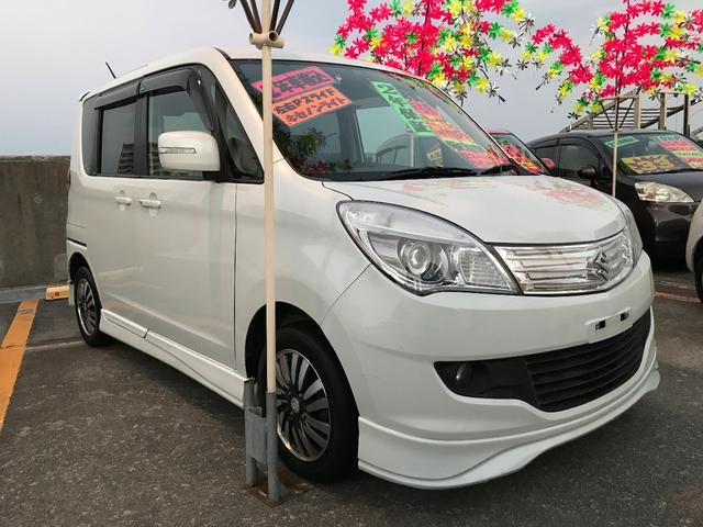 沖縄の中古車 スズキ ソリオ 車両価格 63万円 リ済込 平成23年 9.3万km パールホワイト