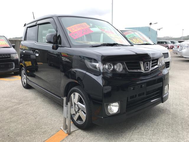 沖縄の中古車 ホンダ ゼストスパーク 車両価格 45万円 リ済込 平成24年 15.5万km ナイトホークブラックパール