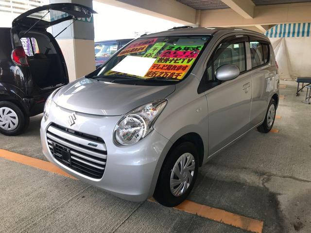 沖縄県の中古車ならアルトエコ ECO-S 社外ナビTV キーレス サイドバイザー