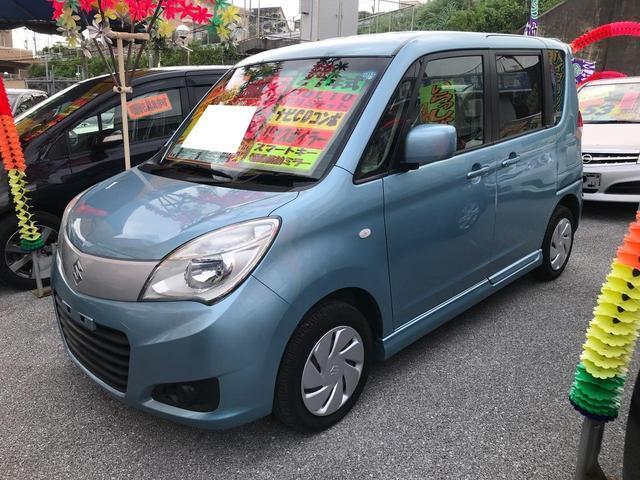 沖縄県の中古車ならソリオ Gリミテッド ナビ CDコンポ リヤスポイラー スマートキー