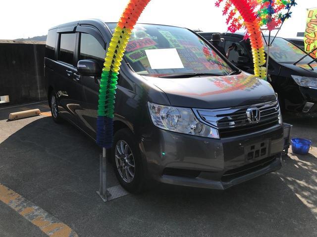 沖縄県の中古車ならステップワゴン G スマートスタイルエディション 社外ナビ TV