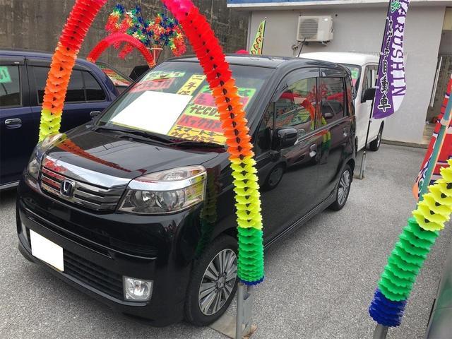 沖縄の中古車 ホンダ ライフ 車両価格 56万円 リ済別 2012(平成24)年 6.7万km ブラック