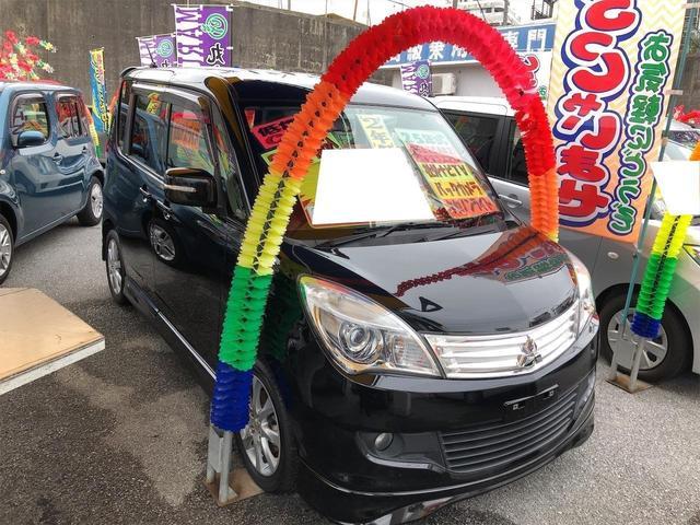 沖縄の中古車 三菱 デリカD:2 車両価格 59万円 リ済別 2013(平成25)年 9.9万km ブラック