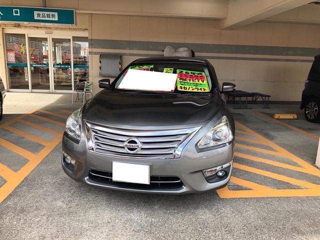 沖縄県宜野湾市の中古車ならティアナ 250XL アラウンドビューモニター機能 電動シート TV可