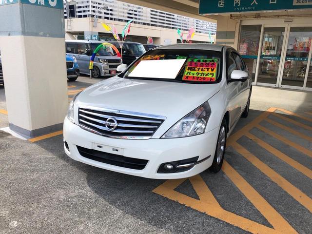 沖縄県の中古車ならティアナ 250XL TV・バックカメラ付 電動シート 後席クーラー