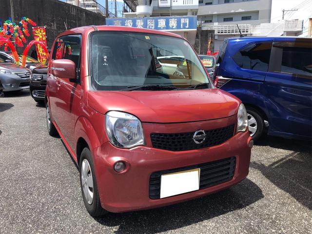 沖縄の中古車 日産 モコ 車両価格 47万円 リ済別 2011(平成23)年 7.8万km モコベリーPM