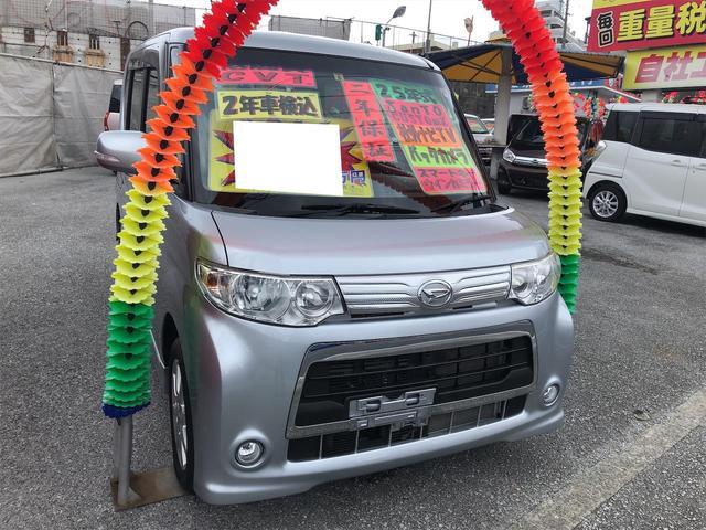 沖縄県宜野湾市の中古車ならタント カスタムXスペシャル