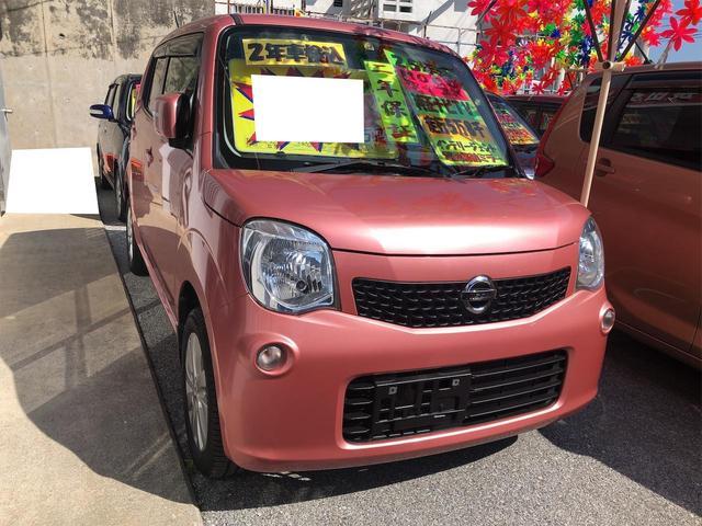 沖縄の中古車 日産 モコ 車両価格 61万円 リ済別 2013(平成25)年 5.9万km モコピーチPM