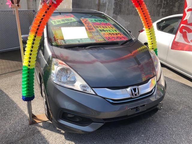 沖縄県宜野湾市の中古車ならフィットシャトルハイブリッド ハイブリッド TV・DVD視聴 Bluetooth シートヒーター ハーフレザーシート ステアリングスイッチ