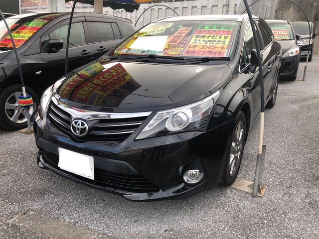 沖縄県の中古車ならアベンシスワゴン Li バックカメラ Bluetooth TV・DVD視聴 アルミホイル