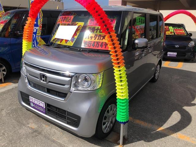 沖縄県宜野湾市の中古車ならN-BOX G・Lホンダセンシング フルセグTV 片側電動ドア バックカメラ Bluetooth ステアリングスイッチ