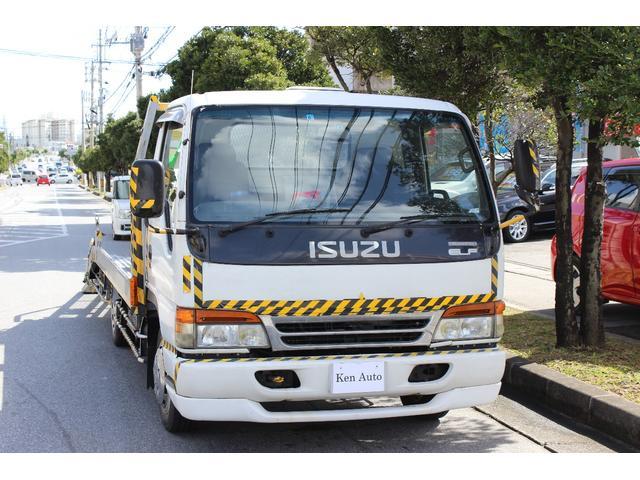 沖縄の中古車 いすゞ エルフトラック 車両価格 65万円 リ済込 平成5年 7.4万km ホワイト
