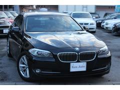 BMW523i・ディーラー車・ワンオーナー・黒レザーシート・ETC