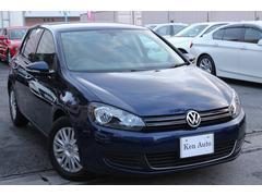 VW ゴルフTSIトレンドライン・ディーラー車・社外HDDナビ・ETC