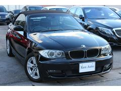 BMW120i カブリオレ・ディーラー車・純正オーディオ・ETC