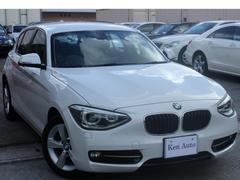 BMW116iスポーツ・ディーラー車・ワンオーナー・純正ナビETC