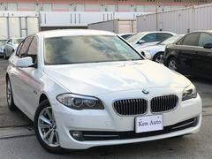 BMW523i・ディーラー車・ベージュレザーシート・HIDライト