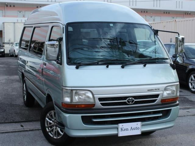 沖縄の中古車 トヨタ レジアスエースバン 車両価格 75万円 リ済込 2003(平成15)年 5.1万km Lグリーン