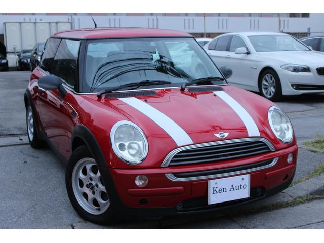 沖縄の中古車 MINI MINI 車両価格 55万円 リ済込 2003年 3.5万km レッド