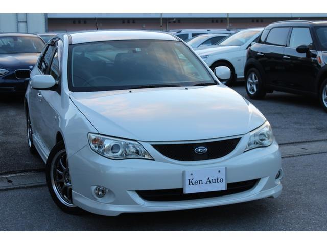 沖縄の中古車 スバル インプレッサ 車両価格 55万円 リ済込 平成21年 6.5万km ホワイト