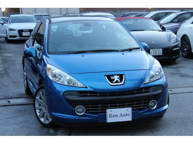 沖縄の中古車 プジョー プジョー 207 車両価格 45万円 リ済込 2007(平成19)年 3.7万km ブルー