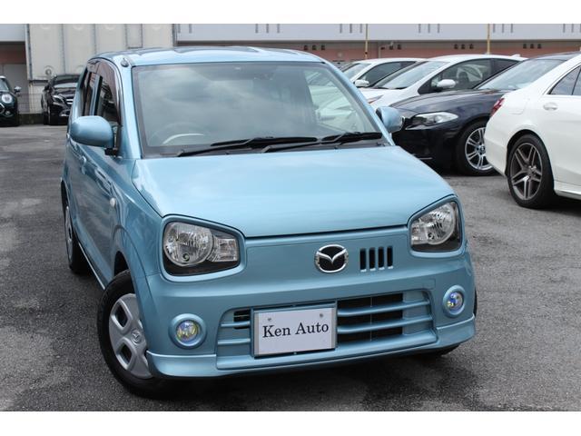 沖縄の中古車 マツダ キャロル 車両価格 59万円 リ済込 平成28年 6.5万km ブルー