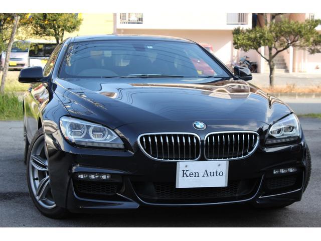 BMW 6シリーズ 640iMスポーツクーペ・ディーラー車・黒革シート・本土仕入