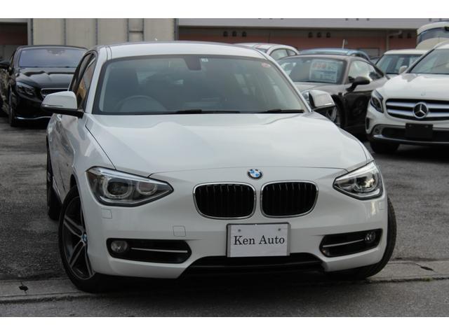 沖縄の中古車 BMW 1シリーズ 車両価格 89万円 リ済込 2013(平成25)年 6.8万km ホワイト