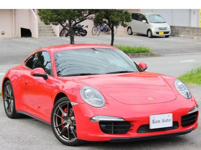 沖縄県の中古車なら911 911カレラ4S・スポーツクロノ・ワンオーナETC・本土仕入
