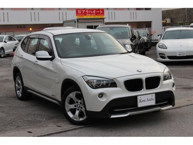 BMW X1 sDrive 18i ディーラー車・禁煙車・社外ナビTV・ETC・キセノンライト・17インチアルミ スマートキー・本土仕入