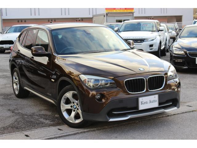 BMW X1 sDrive 18i HDDナビ  バックカメラ 記録簿付 17インチアルミ スマートキー 取扱説明書付・本土仕入
