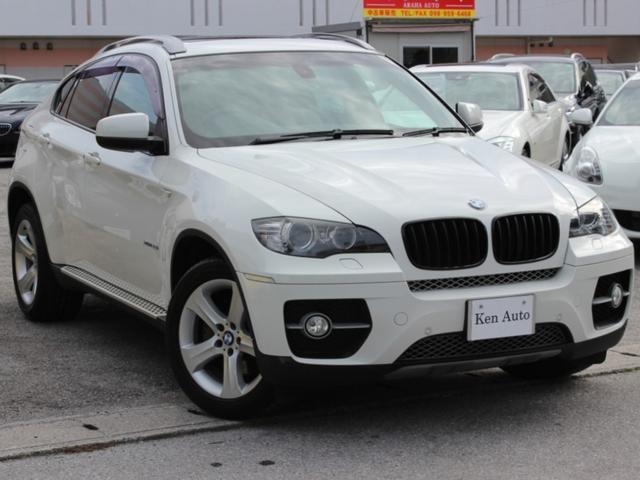 沖縄の中古車 BMW X6 車両価格 220万円 リ済込 2008(平成20)年 7.6万km パールホワイト