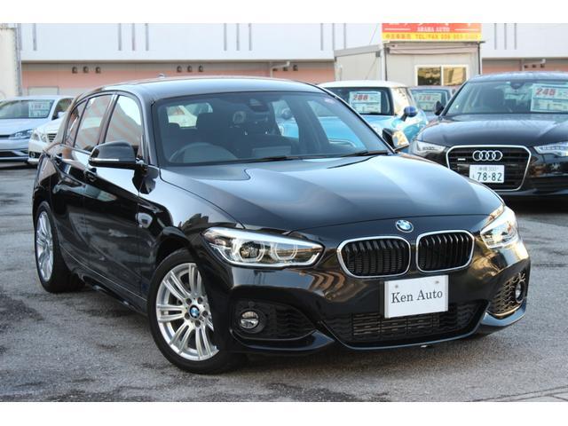 BMW 1シリーズ 118i Mスポーツ 純正ナビ・バックカメラ 禁煙車 LEDヘッドライト インテリジェントセーフティ アイドリングストップ スペアキーレス・本土仕入