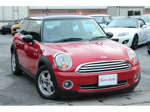 沖縄の中古車 MINI MINI 車両価格 110万円 リ済込 2009(平成21)年 6.3万km レッド