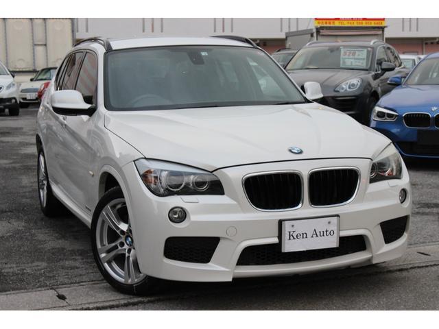 BMW X1 sDrive 18i Mスポーツパッケージ ディーラー車・禁煙車・本土仕入・スマートキー・スペアキー・プッシュスタートエンジン・ETC・純正18inアルミ・純正ナビBカメラ