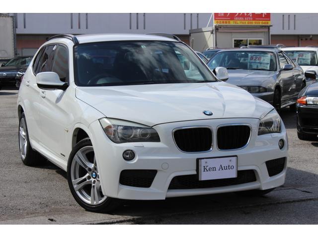 中頭郡北谷町 株式会社 ケンオート BMW X1 sDrive 18i Mスポーツパッケージ ディーラー車 スマートキー プッシュスタート 純正オーディオ 禁煙車 ETC 純正アルミ18インチ 本土仕入れ ホワイト 5.4万km 2011(平成23)年