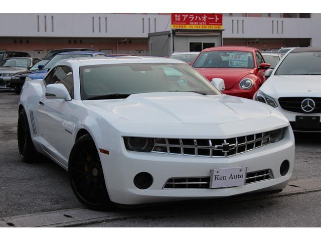 沖縄県の中古車ならシボレーカマロ LT RS 社外バックカメラ ETC 黒革シート シートヒーター(フロント) 社外22アルミ キセノンヘッドライト 本土仕入れ