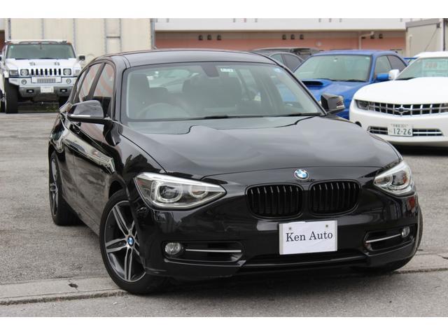 沖縄の中古車 BMW 1シリーズ 車両価格 89万円 リ済込 2012(平成24)年 5.2万km ブラック