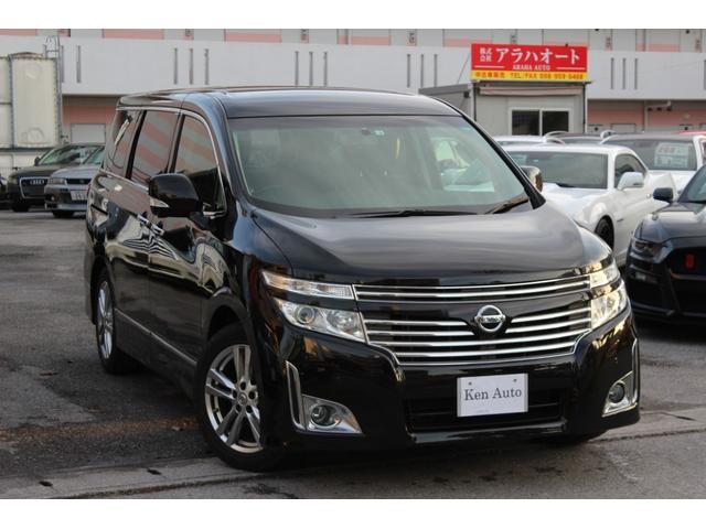 沖縄の中古車 日産 エルグランド 車両価格 105万円 リ済込 2010(平成22)年 8.3万km ブラック