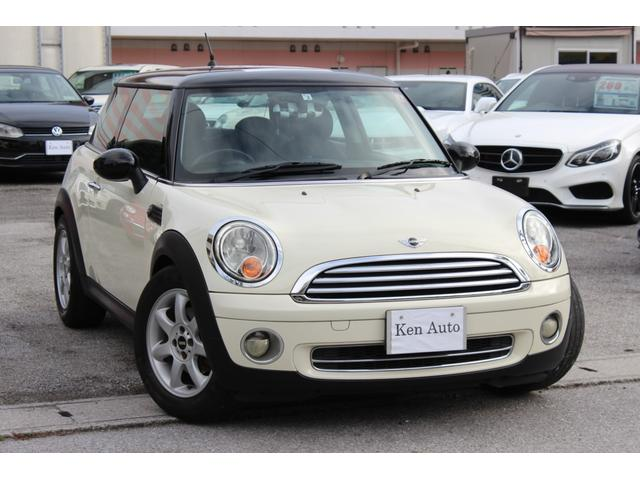 沖縄の中古車 MINI MINI 車両価格 65万円 リ済込 2007(平成19)年 6.6万km ホワイト