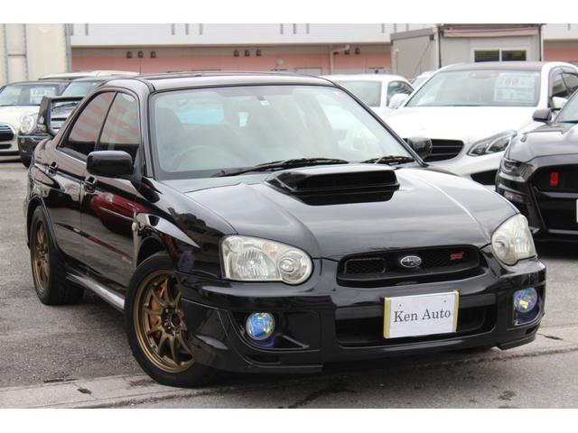 沖縄県の中古車ならインプレッサ WRX STi 社外17インチAW キーレス 本土仕入れ