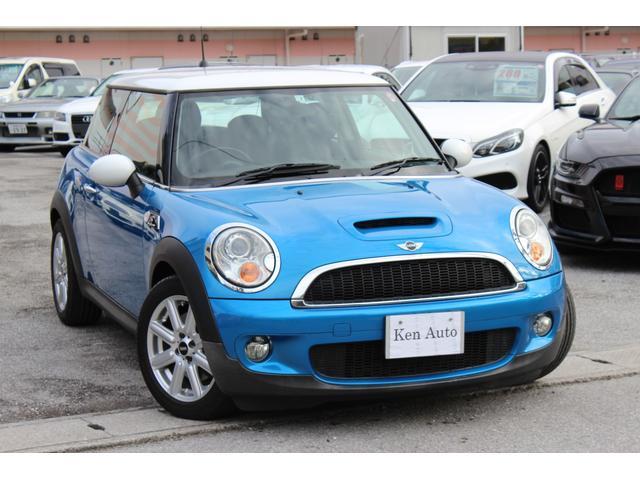 沖縄の中古車 MINI MINI 車両価格 85万円 リ済込 2008(平成20)年 7.2万km ブルーII